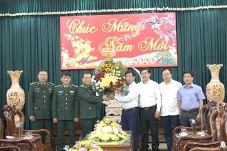 BQL VQG Phong Nha – Kẻ Bàng gặp mặt và làm việc với Thường trực huyện ủy Minh Hóa và Bộ Chỉ huy Bộ đội Biên phòng tỉnh Quảng Bình